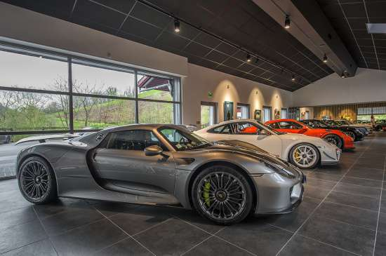 Museo Porsche.Discover Our Museum Porsche On Ostape Estate Near Saint Jean Pied De
